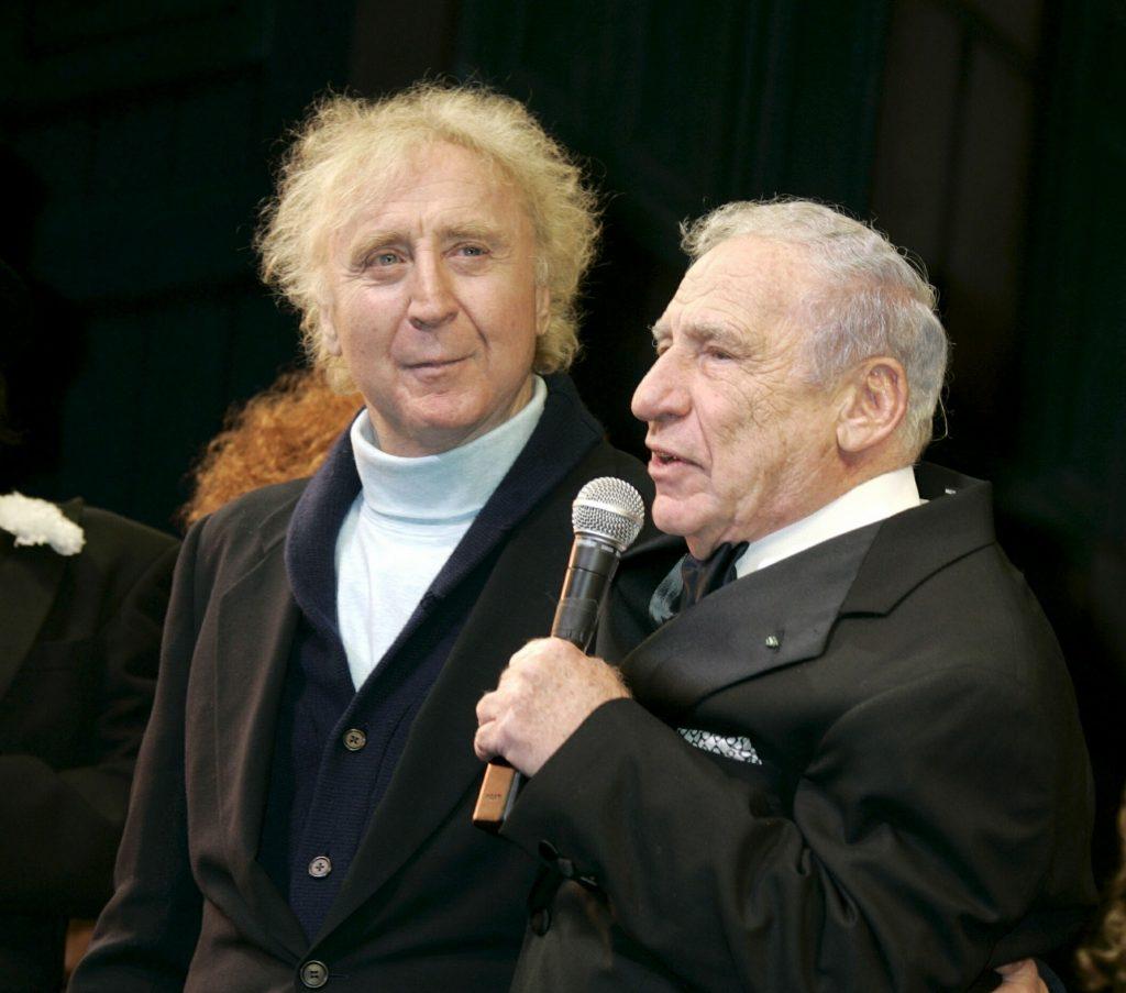 Майкл Брукс с Джином Уайлдером