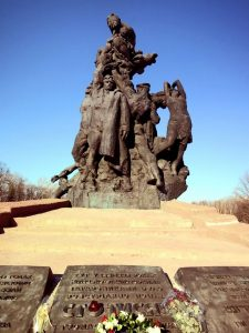Памятник «Советским гражданам и военнопленным солдатам и офицерам Советской Армии, расстрелянным немецкими фашистами в Бабьем Яру»